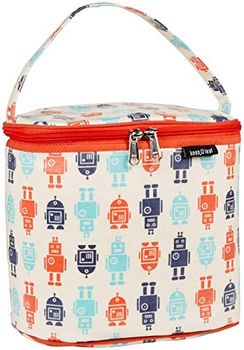 Keep Leaf Cooler Lunch Bag - Robot - 1