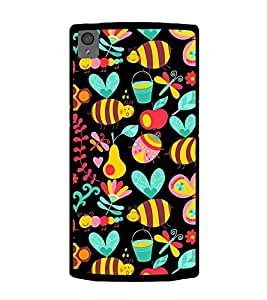 Cute Wallpaper 2D Hard Polycarbonate Designer Back Case Cover for OnePlus X :: One Plus X :: One+X