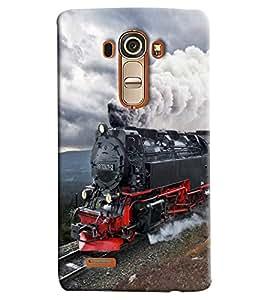 Blue Throat Steam Engine Printed Designer Back Cover/ Case For LG G4