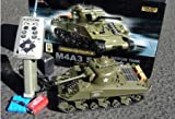 M4A3 Sherman 1-30 Scale Radio Remote Controlled RC Battle Tank RTR TASM