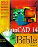 img - for AutoCAD 14 Bible book / textbook / text book