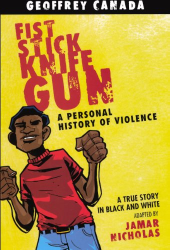 Fist Stick Knife Gun: A Personal Story Of Violence (Turtleback School & Library Binding Edition)
