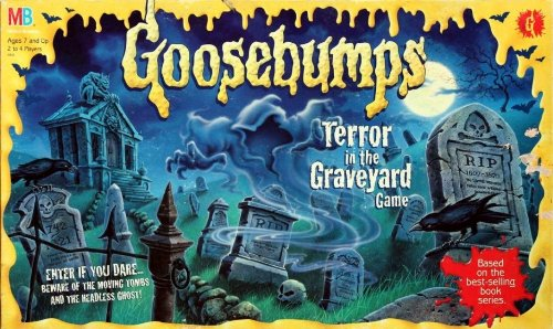 Terror in The Graveyard Board Game The Graveyard Board Game