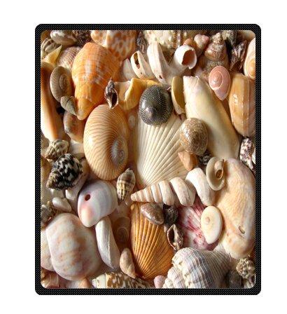 Seashell Throw Blanket front-1039014