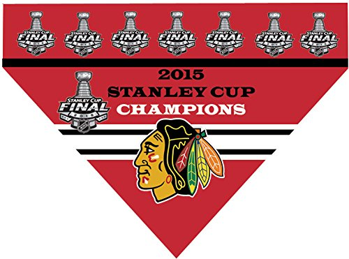 NHL Chicago Blackhawks 2015 Stanley Cup Champions (Large) (Chicago Blackhawks Dog Harness compare prices)
