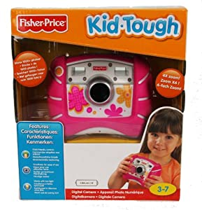 Fisher-Price Kid-Tough Digital Camera (Pink)