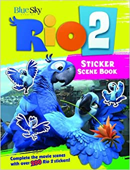 Rio 2 Sticker Scene Book