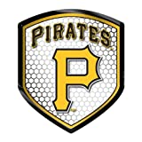 Pittsburgh Pirates MLB Reflector Decal Auto Shield for Car Truck Mailbox Locker Sticker Baseball Licensed Team Logo at Amazon.com