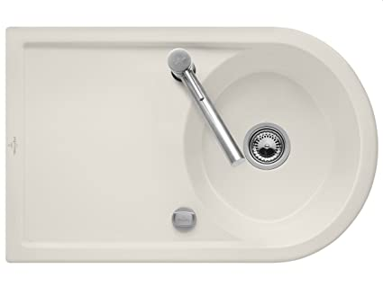 Villeroy & Boch Ceramic Sink Kitchen Sink Cream Crema Lagorpure 45