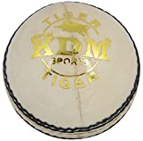 KDM Tiger Leather Ball (White)