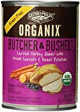 Organix Butcher and Bushel Organic Carved Turkey Dinner with Fresh Carrots and Sweet Potatoes for Pets, 12.7-Ounce (pack of 12)