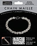 Midwest Products Chain Maille Silver Byzantine Bracelet Jewelry Kit