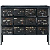 journal standard Furniture GUIDEL 12DRAWERS CHEST WIDE 110cm