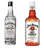 Jack Daniels Winter Jack Tennesse Apple Punch 0,7l + Jim Beam Hot Punch 0,7 Set