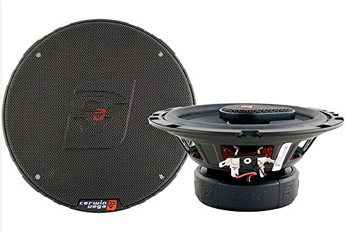 "Cerwin-Vega H4653 6.5"" 3-Way Coaxial Speaker Set - 360W Max / 50W Rms Car Speakers"
