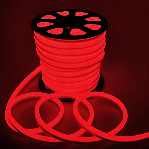150ft 110v flex led neon rope light indoor outdoor holiday import 150ft 110v flex led neon rope light indoor outdoor holiday festival party decorative lighting red aloadofball Gallery