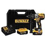DEWALT DCD996P2 20V MAX* XR Lithium Ion Brushless 3-Speed Hammer Drill Kit