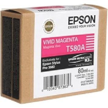 EPSON c13T580A00 sTPRO3880 mAG 80 ml encre magenta