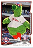2014 Topps Opening Day Mascots Baseball Card #M-13 Phillie Phanatic Philadelphia Phillies