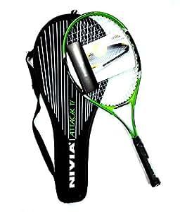 Nivia Attack Ti Tennis Racket (Adult)