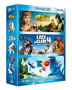 Meilleur de la 3D Blue Sky : Epic + L'Age de glace 4 + Rio [Blu-ray 3D]
