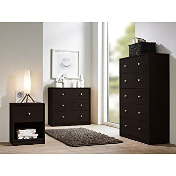 Studio Collection 3-piece Bedroom Set, Coffee