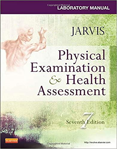 Image: Cover of Student Laboratory Manual for Physical Examination & Health Assessment, 6e  by Jarvis