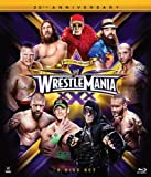 Wrestlemania XXX (30) BLU-RAY - Amazon Exclusive: Chrome Trading Card and WWE Book