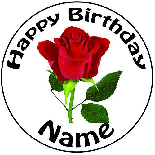 decoration-pour-gateau-personnalisee-rose-rouge-un-rond-predecoupes-203-cm-decoration-glacage-20-cm