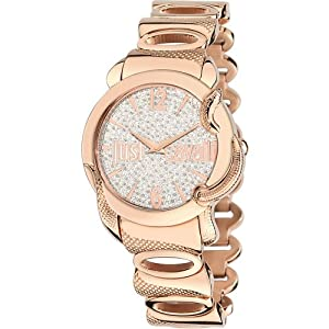 Just Cavalli R7253576506 Women's Eden Silver Dial Watch