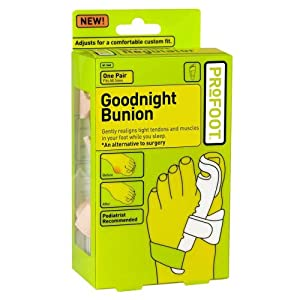 Profoot Care Goodnight Bunion, One Pair, Acid Free, Fits All