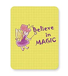 PosterGuy Mouse Pad - Believe in magic | Designed by: Codeburnerz Technologies