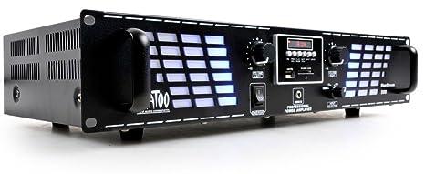Amplificateur 1500 watts étage de sortie puissance USB SD Bluestream 500