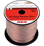 RCA AH16100SN 100 Feet 16-Gauge Speaker Wire