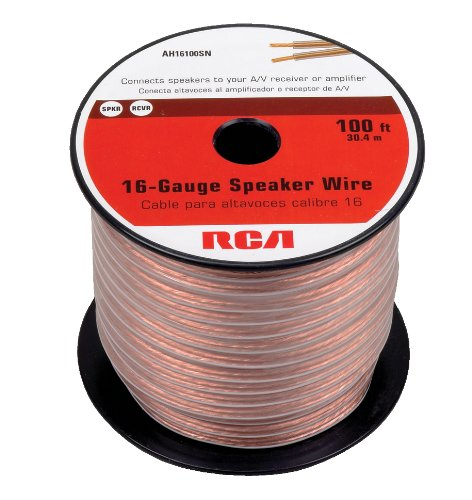 RCA AH16100SN 100 Ft. 16-Gauge Speaker Wire