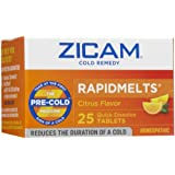 Zicam Cold Remedy RapidMelts with Vitamin C, Citrus 25 ea