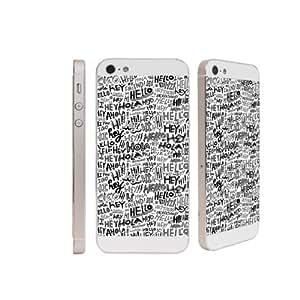Decal Buddies Iphone 5/5S Hello World Decal Phone Skin