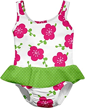 i Play Skirty Tanksuit,6 Months / 10-18 Pounds,Green