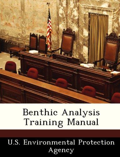 Benthic Analysis Training Manual