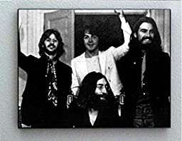 Rare Framed Last Ever Photo of The Beatles Together. Jumbo Giclée Print
