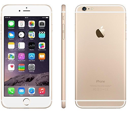 Apple discount duty free Apple iPhone 6 Plus 16GB Factory Unlocked GSM 4G LTE Smartphone, Gold (Certified Refurbished)