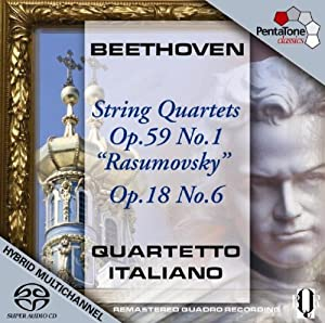 Beethoven: String Quartets Op. 59 No. 1 [SACD]