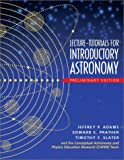 Lecture Tutorials for Introductory Astronomy - Preliminary Version (013101109X) by Adams, Jeffrey P.