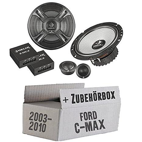 Ford C-Max Heck - Helix - B 62C.2 - 16cm 2-Wege Lautsprecher System - Einbauset