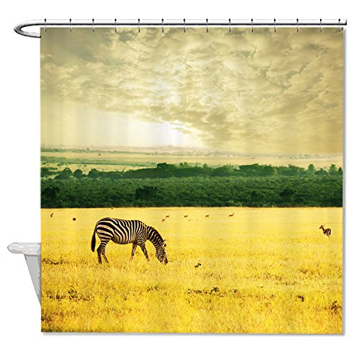 whiangfsoo-african-zebra-animals-lanscape-pictures-home-decro-bath-shower-curtain-60x72