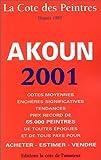 echange, troc Jacky Akoun - La cote des peintres 2001