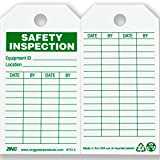 ZING 7014 Eco Safety Tag, Safety Inspection, 5.75Hx3W, 10 Pack
