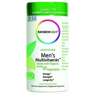Rainbow Light, Men's Organic Multivitamin, 120 count