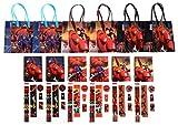 Disney Big Hero 6 Party Favor Stationery Set - 6 Packs (54 Pcs)