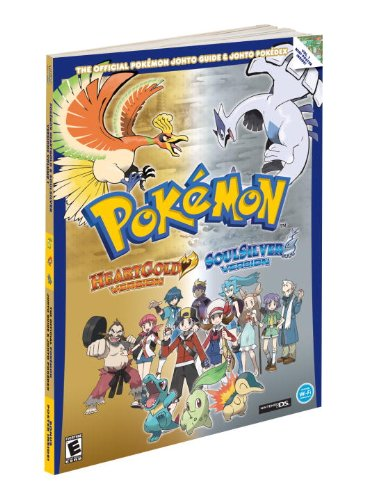 Pokemon HeartGold & SoulSilver: The Official Pokemon Johto Guide & Johto Pokedex: Official Strategy Guide
